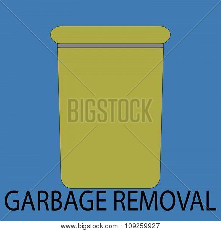 Garbage removal icon