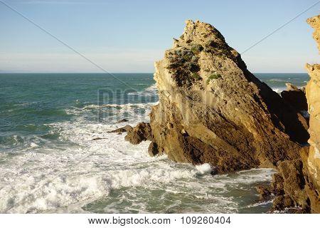 Sea Stack at Biarritz