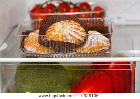 Sweet Cakes And Vegetables