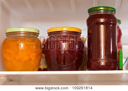 Jam In Glass Jars