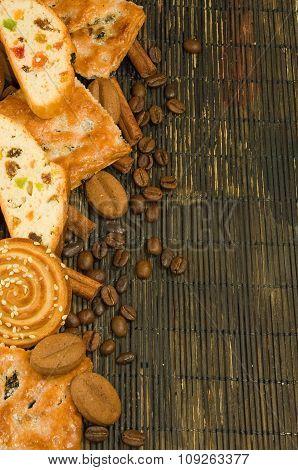 Image Of Various Tasty Cookie On A Table Close-up