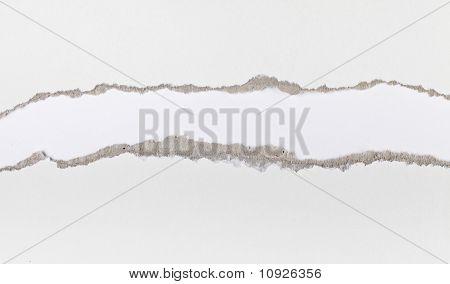 Torn Paper Strip Series