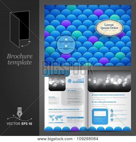 Sea Brochure Template Design