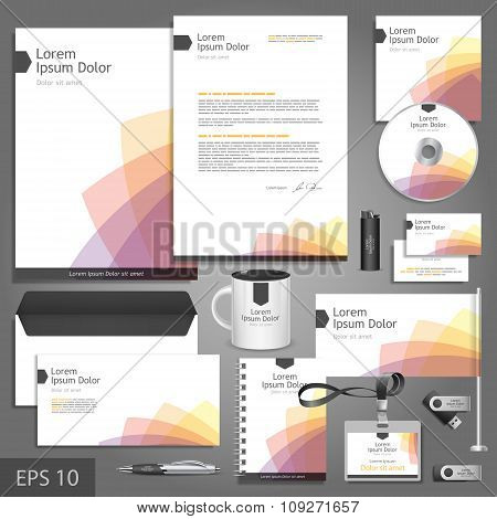 Clean Business Corporate Identity Template
