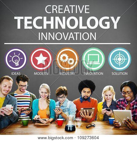 Creative Technology Innovation Media Digital Concept