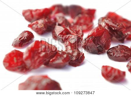 Close On Dried Cranberries