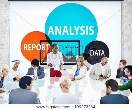 Report Analysis Data Information Concept
