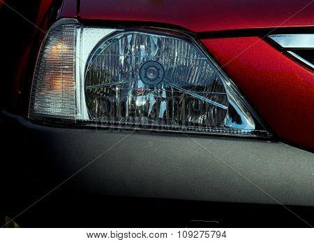 Front car light