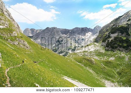Wonderful Mountain landscape. Big mountain adventure