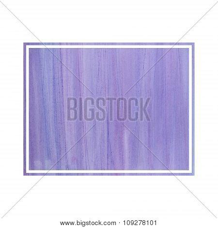 Invitation Card. Watercolour Frame. Copy Space.