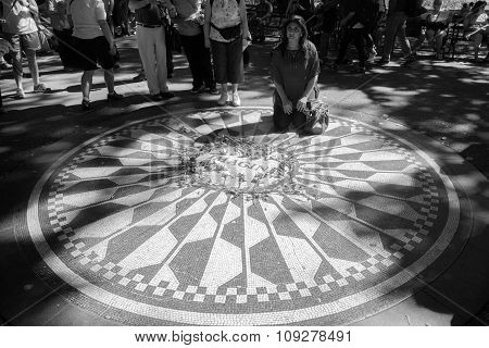 People On Strawberry Fields