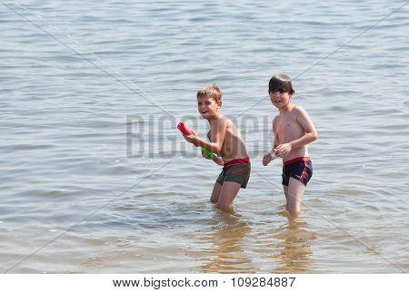 Water Pistol Action