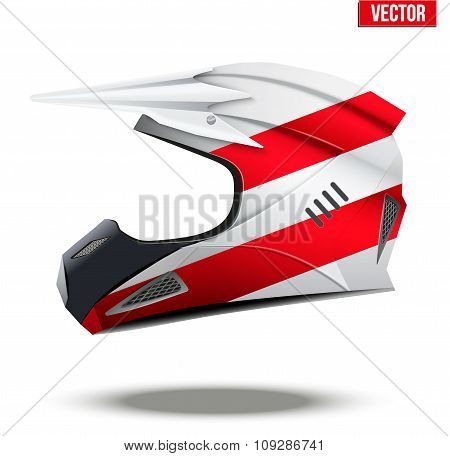 Austria Flag on Motorcycle Helmets