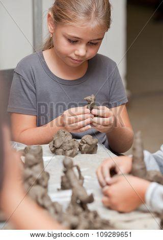 Little Girl Sculpts