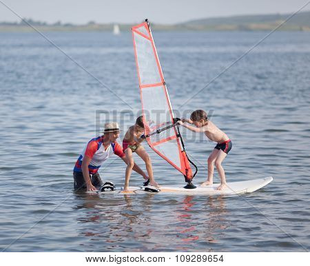 Windsurfing Fun