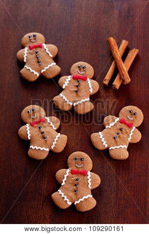 lovely gingerbread man - sweet food