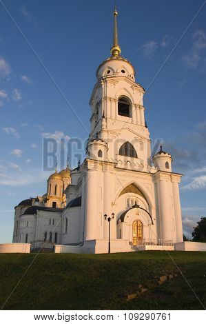 The Dormition Cathedral In Vladimire (russia)