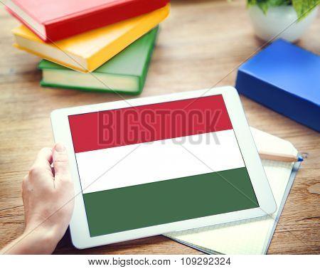Hungary National Flag Government Freedom LIberty Concept