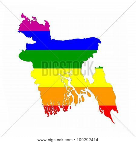 Bangladesh Gay Map