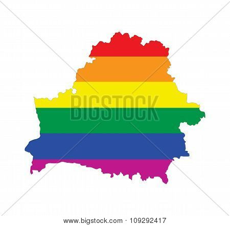 Belarus Gay Map