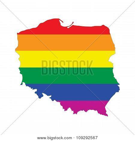 Poland Gay Map