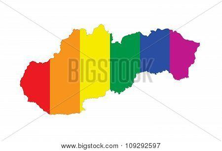 Slovakia Gay Map