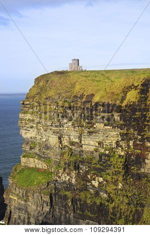 Medieval Tower on Cliff