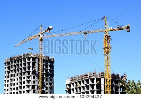 construction of a residential new house