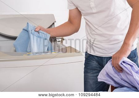 Using washer
