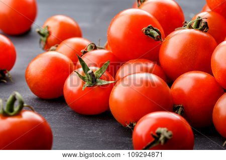 Pile Of Cherry Tomatoes