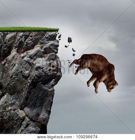 Falling Bear Market