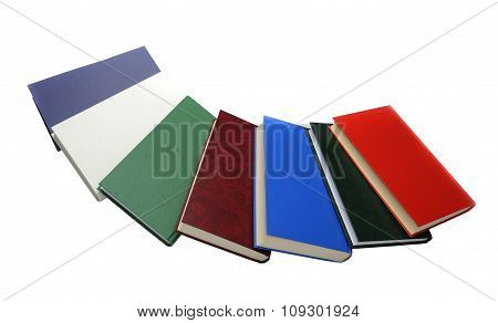 Several Colorful books