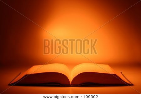 Picture or Photo of Conceptual Idea: Open book