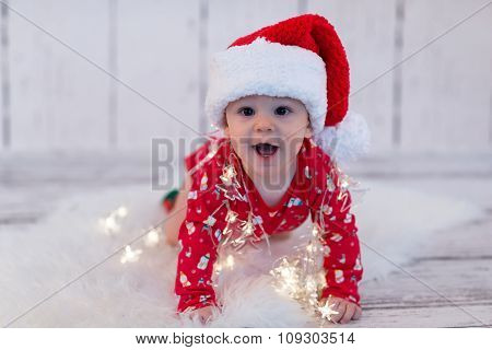 Little X-mas Baby With Lights