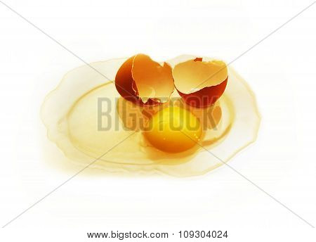 Yolk And Broken Shell