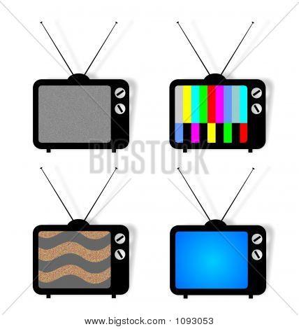 4 Tv Icons