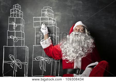 Santa Claus' occupation