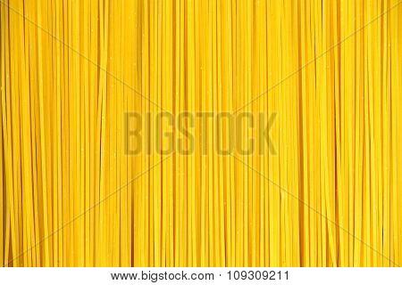 Close Up Italian Pasta Spaghetti Macaroni. Background, Texture