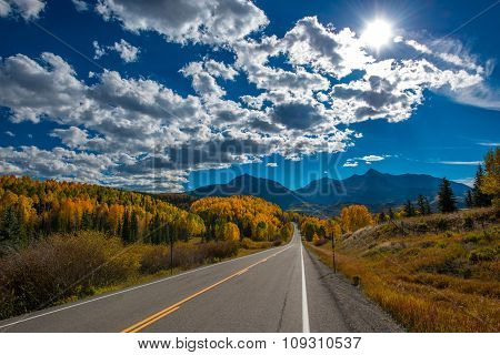 Fall Color, Colorado Highway 145