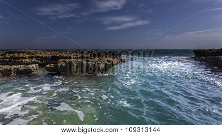 Coast With Rocks
