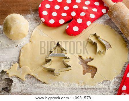 Ingredients For Christmas Cookies.