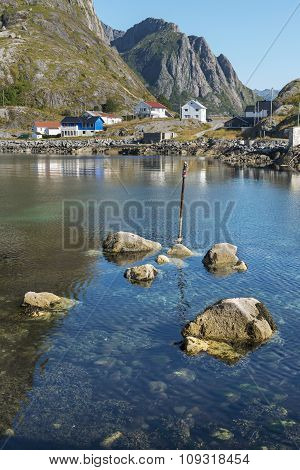 Small Bay On Hamnoy Island, Norway