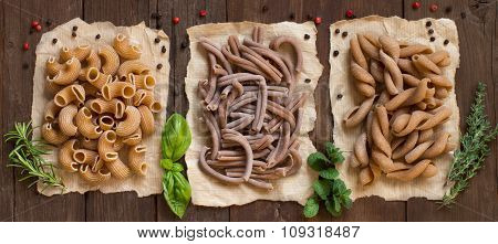 Whole Wheat  Pasta And Herbs