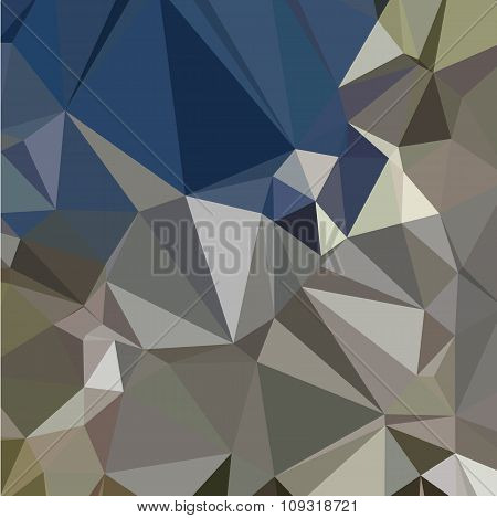 Ash Grey Abstract Low Polygon Background