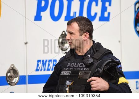 NYPD CTB officer