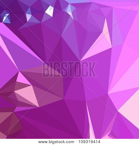 Light Medium Orchid Purple Abstract Low Polygon Background