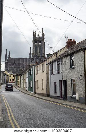 Beautiful Residential Street Scene In Kilkenny