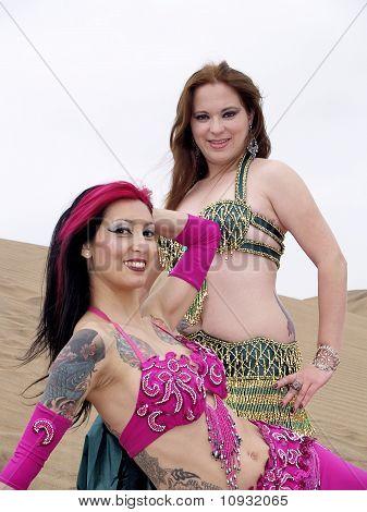 Two Arab Dancers