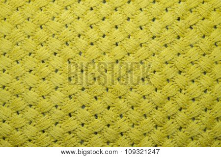 The texture of wool fabric