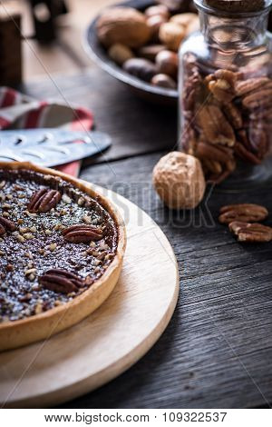 Traditional Pecan Nut Pie